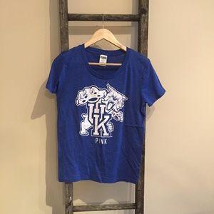 UK Wildcats Victoria's Secret PINK T-Shirt - Lg